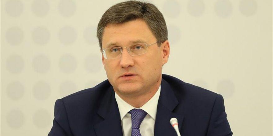 Rusya Enerji Bakanı Novak: Türk Akımı Projesi İş Birliğimizin Gelişmesine Yardımcı Olacak