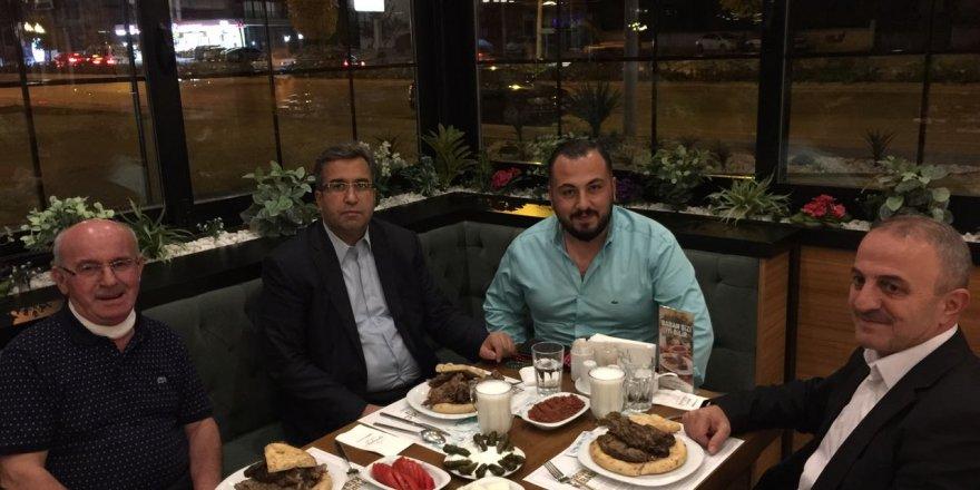 Emniyet Müdürü Demir  Furun kebabını tattı