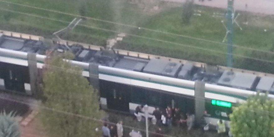 Konya'da tramvay kazası