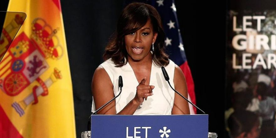 Michelle Obama'dan Trump'a Tepki