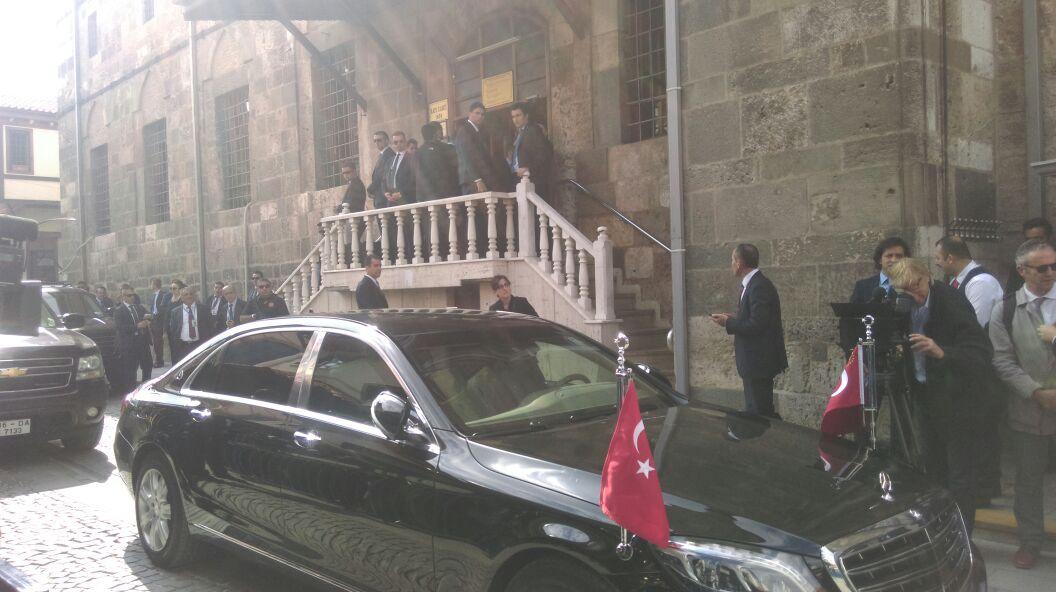Erdoğan, Kapu Camii'nde