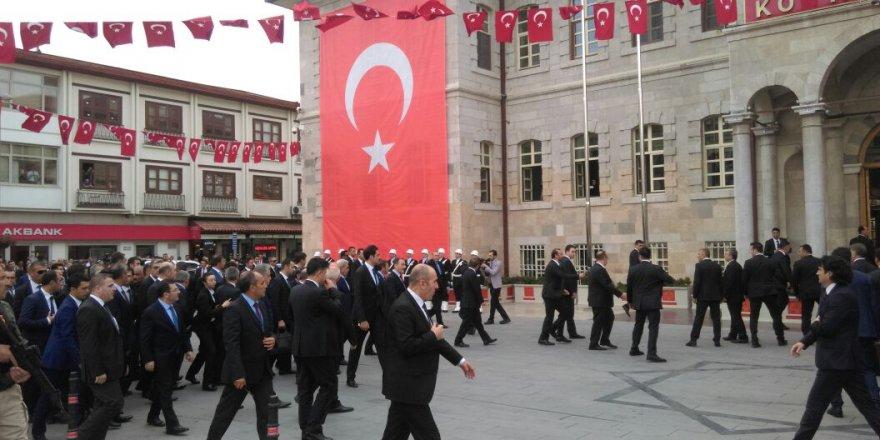 Erdoğan Valilik'te