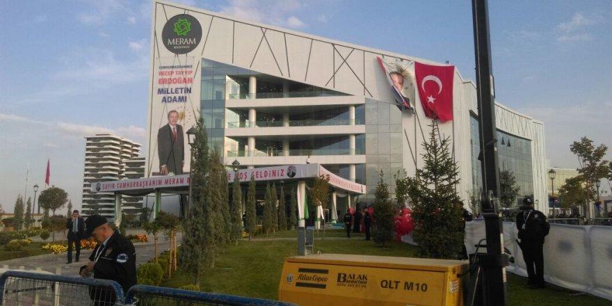Meramlılar Cumhurbaşkanını bekliyorlar