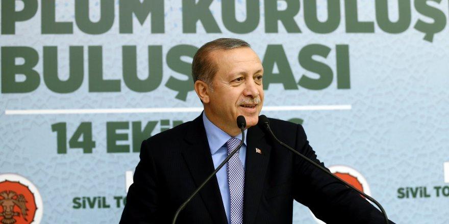 Erdoğan, STK temsilcileriyle buluştu