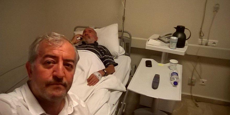 Ahmet Arı Bey'e acil şifalar dileriz