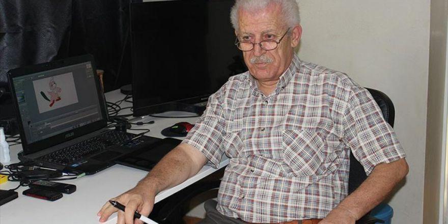 Suriyeli Yönetmen Çizgi Film Çalışmalarını Türkiye'de Sürdürüyor