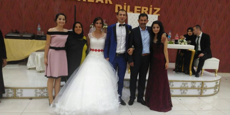 Yasemin Özcan ile Fikret Gürsel evlendi