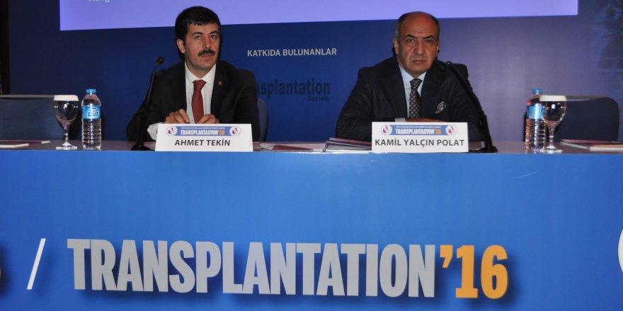 Transplantasyon 2016 Kongresi sona erdi