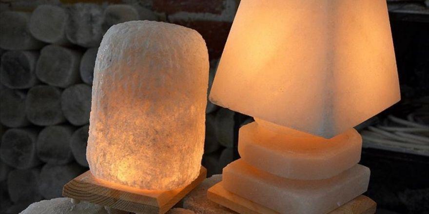 Kırşehir'in 'Tuz Lambaları'na Himalaya Ürünleri Rakip