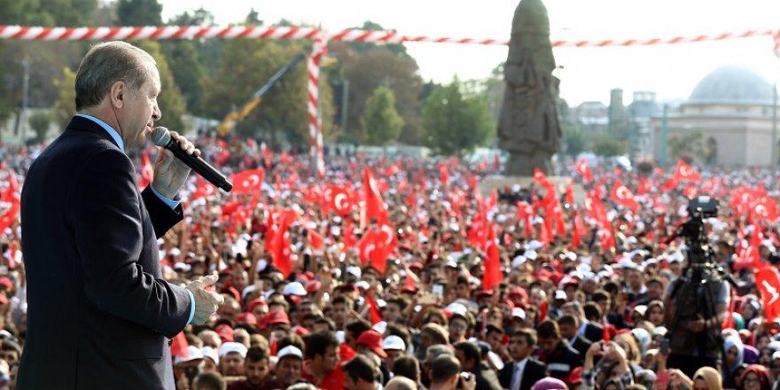 Sorgun'dan Konya'ya teşekkür