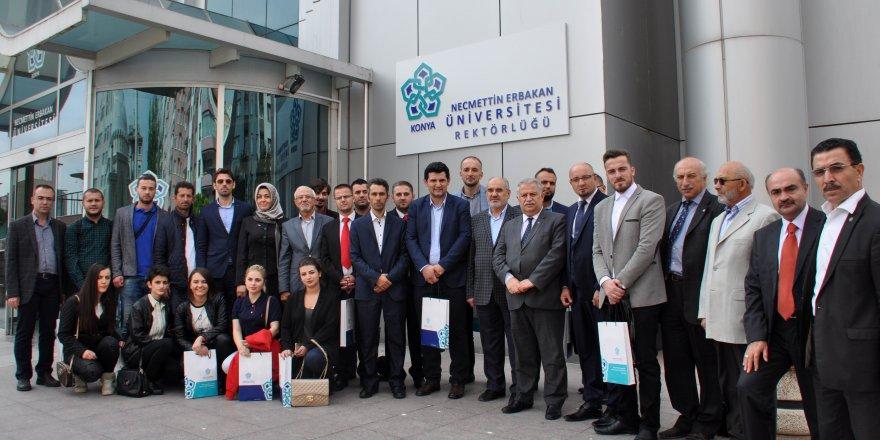 Kosovalı heyetten Necmettin Erbakan Üniversitesine Ziyaret