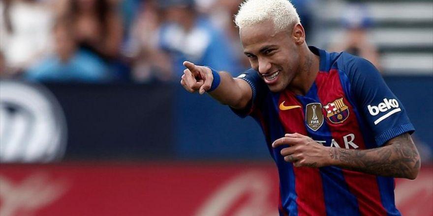 Neymar 2021'e Kadar Barcelona'da