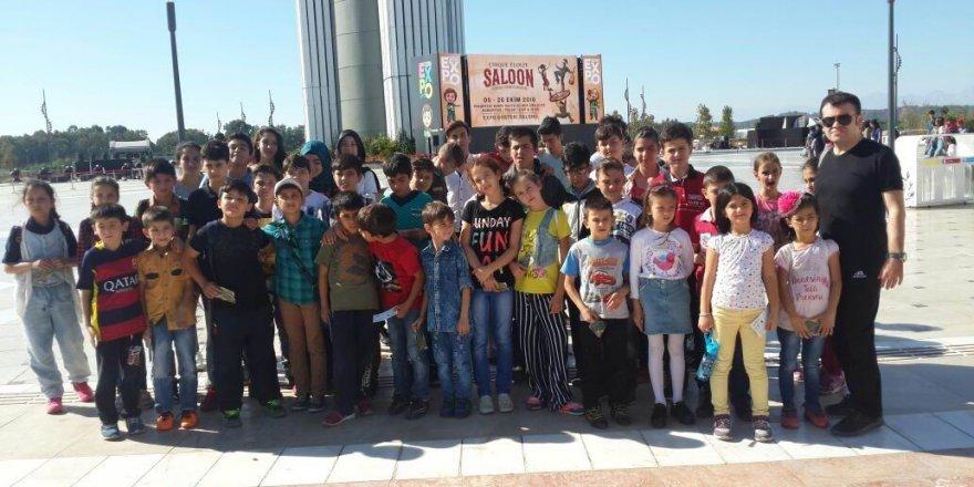 Beyşehir Belediyesi'nden başarılı tekvandoculara Expo Antalya gezisi