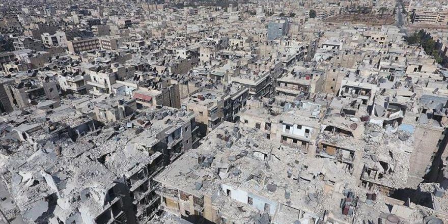 'Rusya Ve Suriye Rejimi Halep'teki Hava Operasyonlarını Durdurdu'