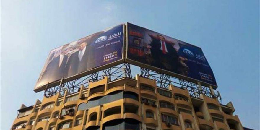 Mısır Polisi Erdoğan'a Hakaret İçeren Posterleri İndirdi