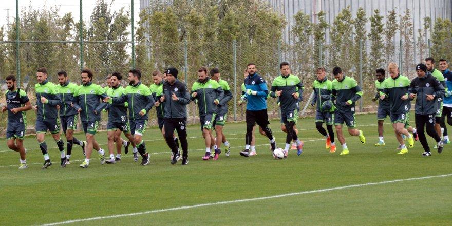 Braga maçı hazırlıklarına başladı
