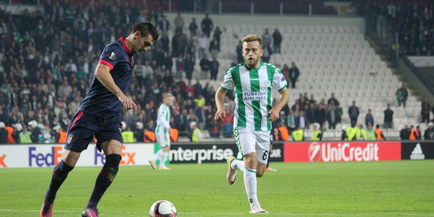 Atiker Konyaspor: 1 - Braga: 1