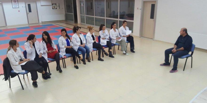 Aşkan Anaokulu'nda eğitim semine