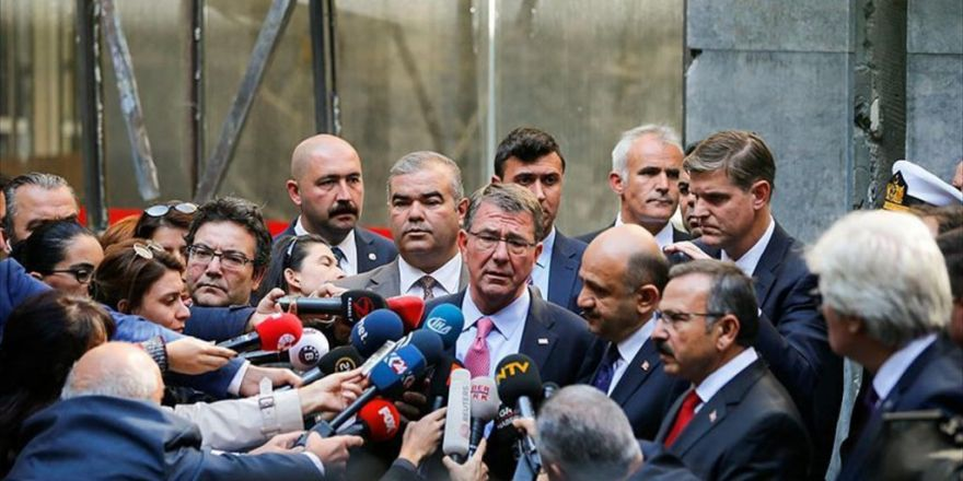 Abd Savunma Bakanı Carter Tbmm'yi Ziyaret Etti