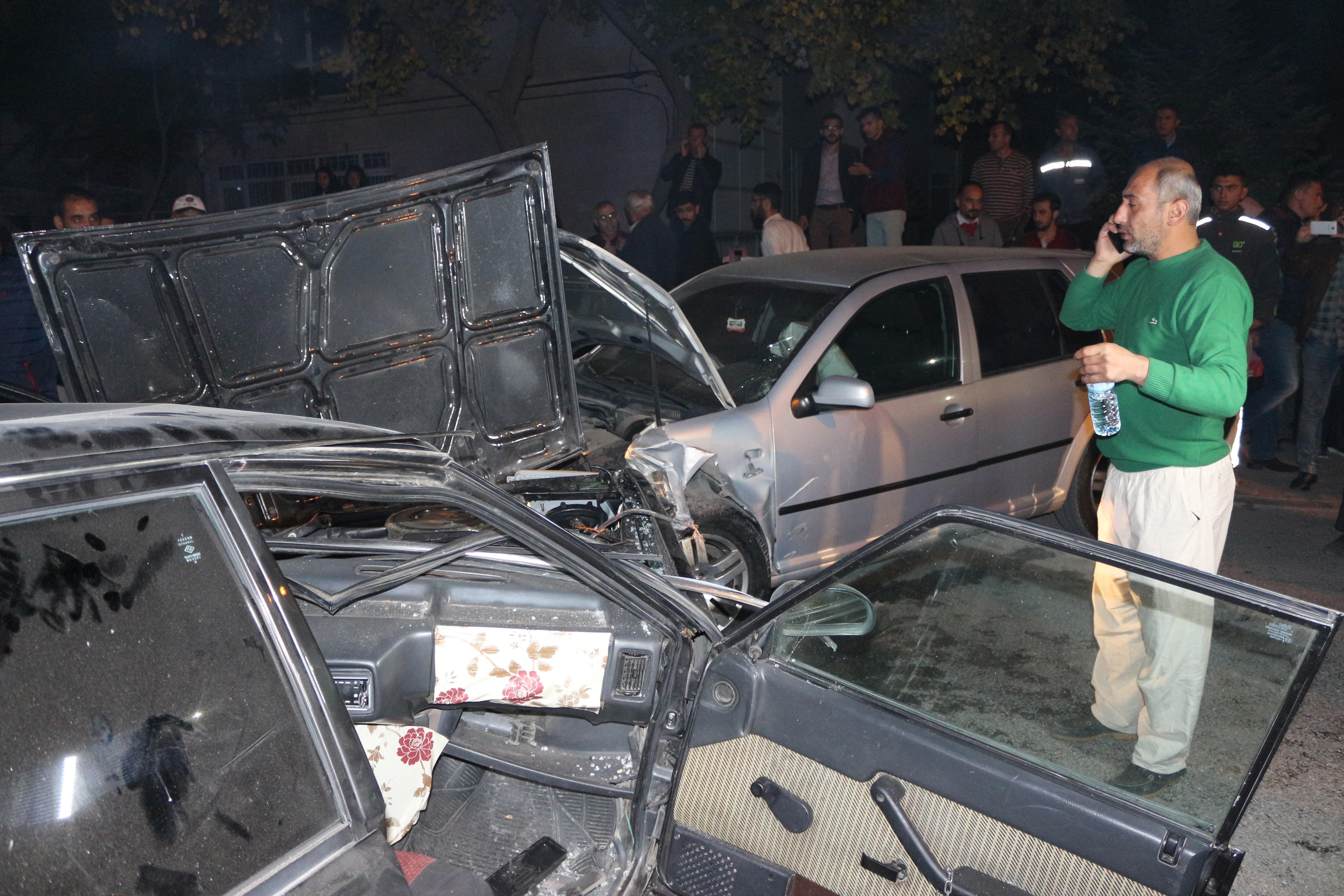 Karatay'da alkollü sürücü dehşet saçtı
