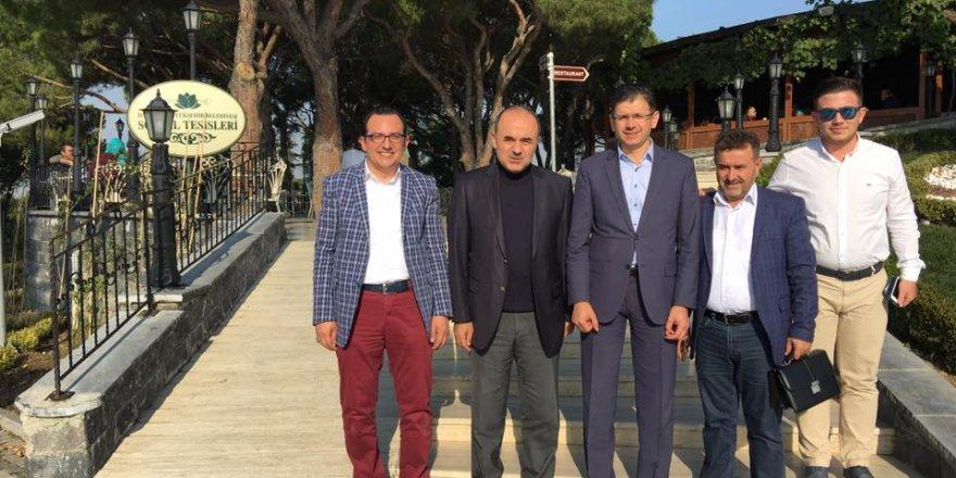 Vali Erol Konyalıları Gözdağı Sosyal Tesisleri'nde ağırlamış
