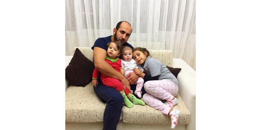 Evren Tokay kızları ve yeğeni ile
