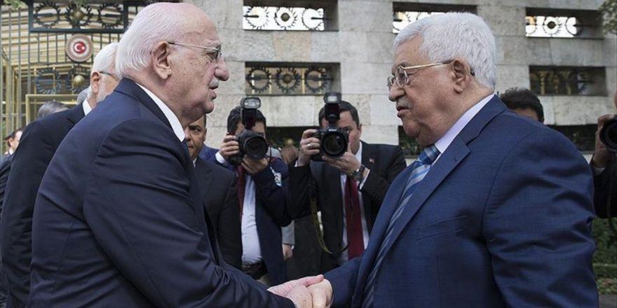 Filistin Devlet Başkanı Abbas Meclis'te