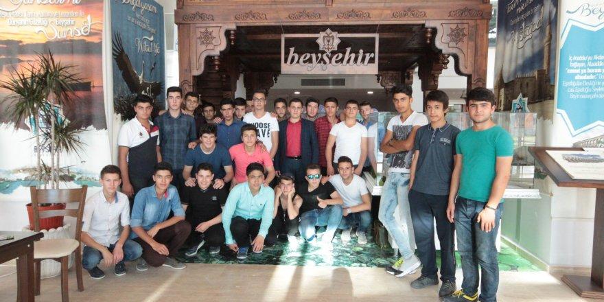 Beyşehir'de öğrencilere EXPO Antalya gezisi