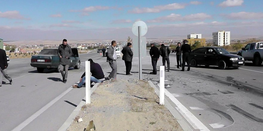 Kulu'da trafik kazası: 3 yaralı