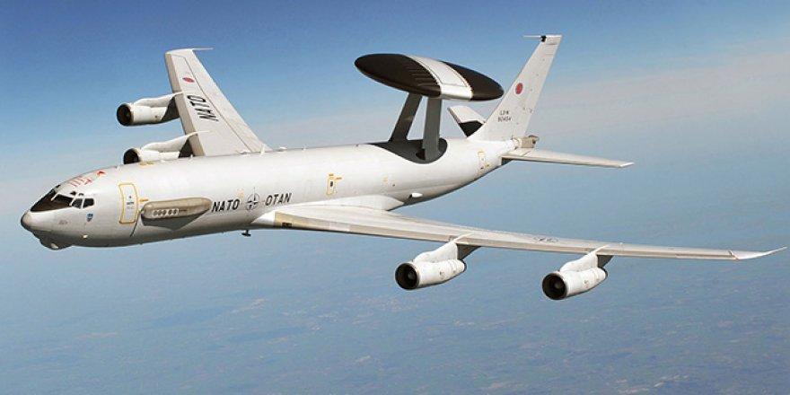 AWACS uçağı Konya'dan uçuşlara başladı