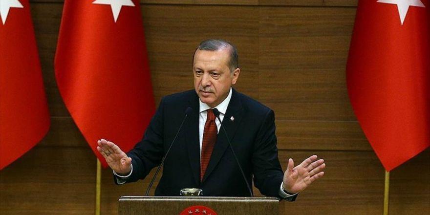 Cumhurbaşkanı Erdoğan: Münbiç'i Pyd'den Temizlemekte Kararlıyız