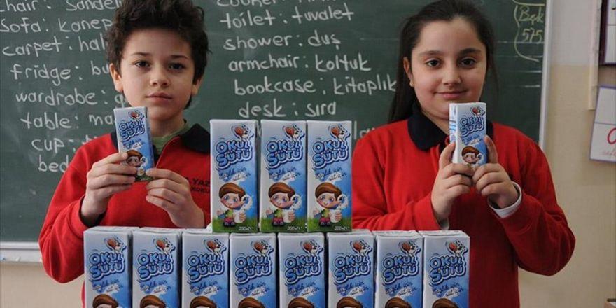 Okul Sütü İhalesi Yapıldı