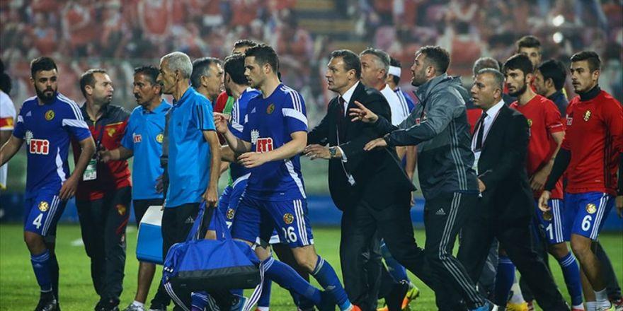 Pfdk Eskişehirspor'a Ceza Yağdırdı