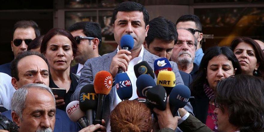 Hdp Eş Genel Başkanı Demirtaş'a Soruşturma