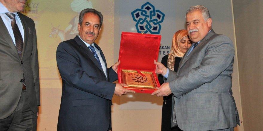 NEÜ'DE Nasreddin Hoca konferansı