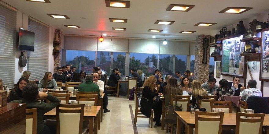 TEMA ŞEHİR için İstanbul'dan gelen gazeteciler Meram Hacı Şükrü'de