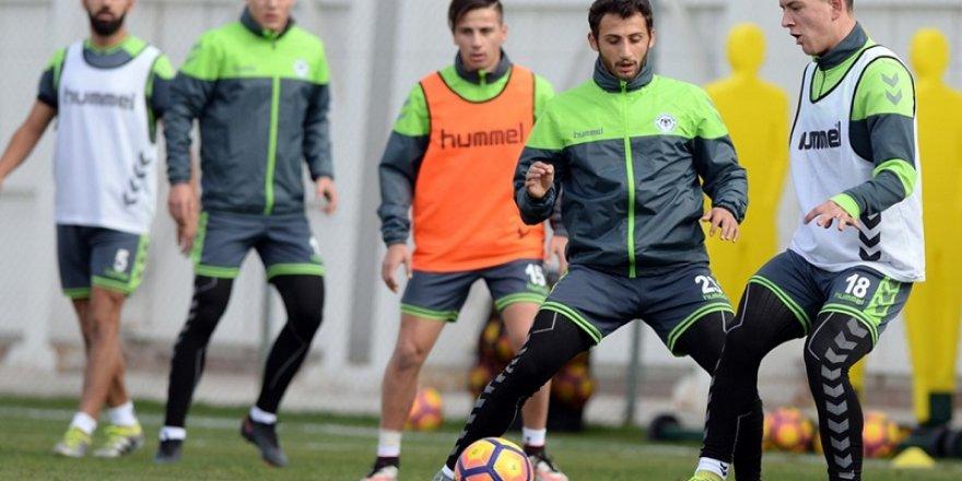 Konyaspor, Bursaspor maçının hazırlıklarını tamamladı