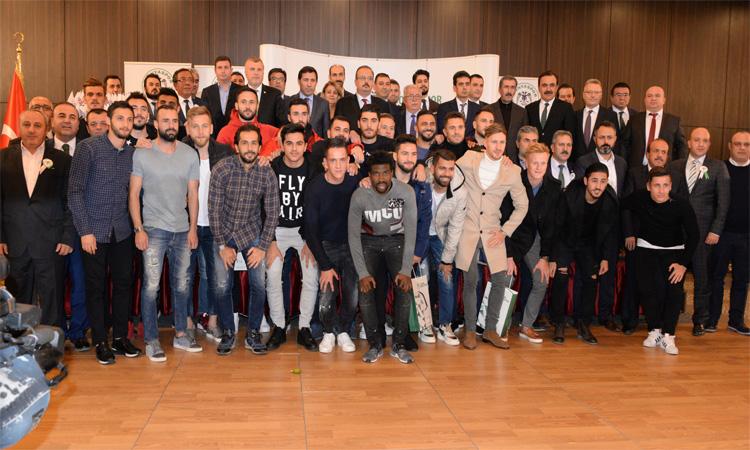 Konyaspor'dan sponsorlara teşekkür gecesi