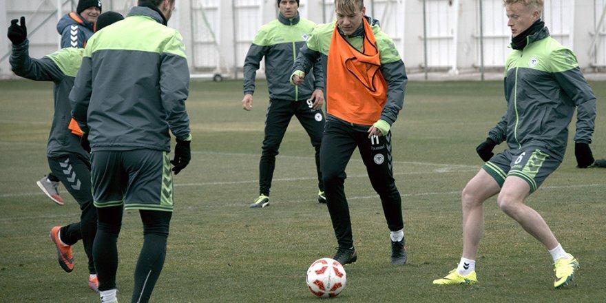 Atiker Konyaspor'da kupa mesaisi