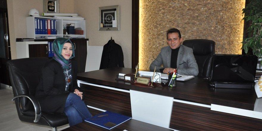 Asuman Oflaz'dan Remzi Can'a ziyaret