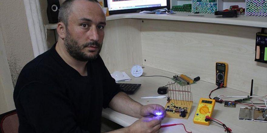 Elektromanyetik Dalgalardan Elektrik Üretti