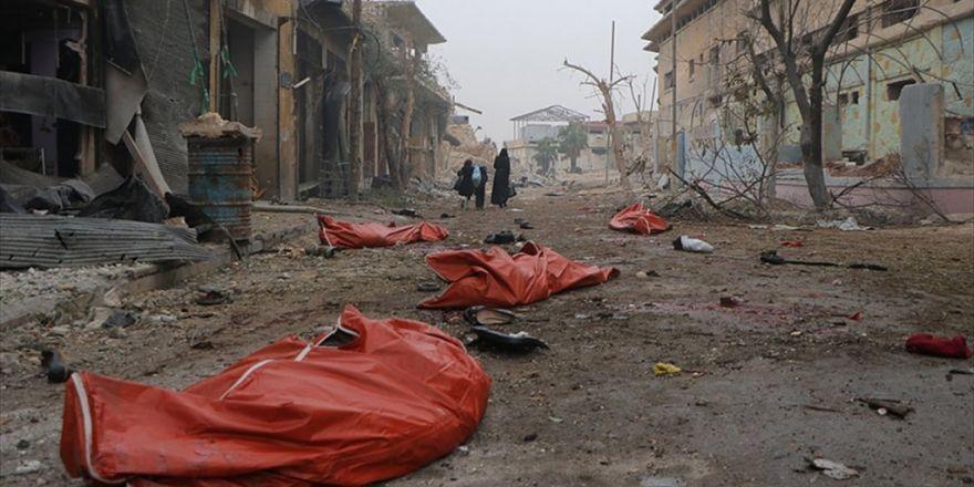Halep'te Sivil Yerleşim Yerlerine Saldırı: 46 Ölü, 230 Yaralı