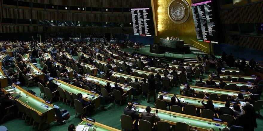 Bm Genel Kurulu'nda 'Suriye Tasarısı' Kabul Edildi