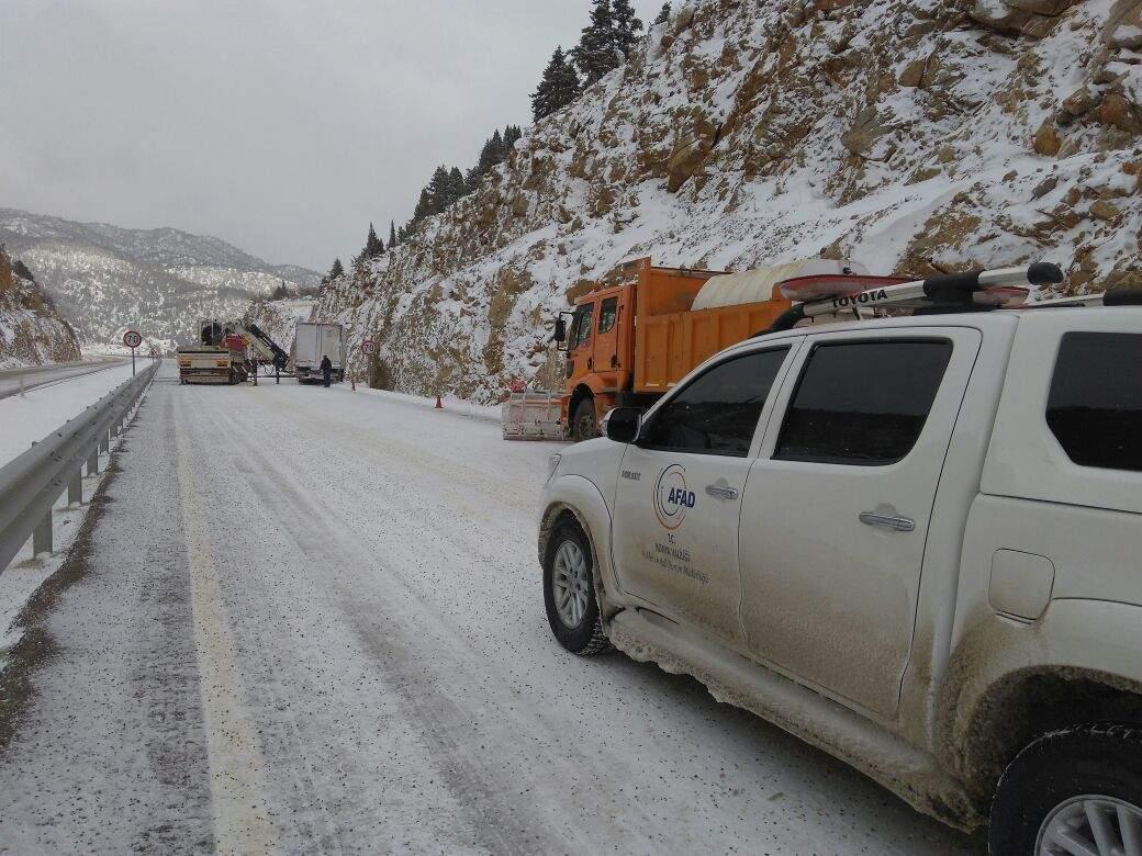 Dikkat!!! Konya'da bu yollar kapalı