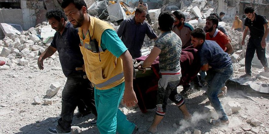 Esed rejimi sivilleri vurdu