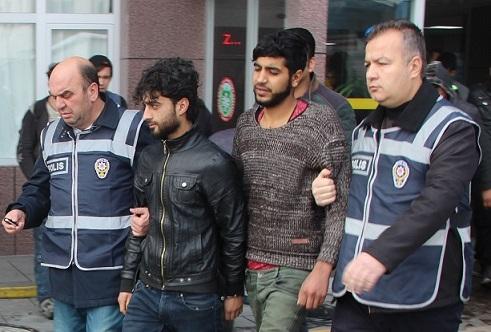 Suriyeli gaspçılardan 8'i tutuklandı