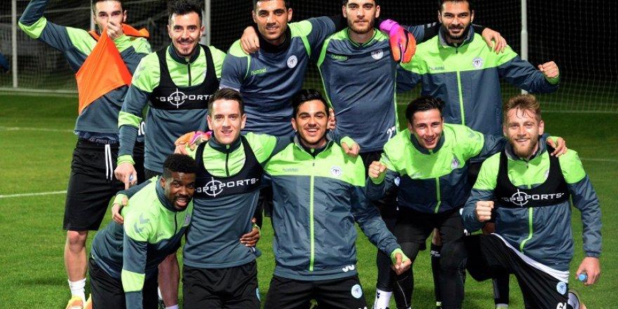 Kazanan yeşil takım