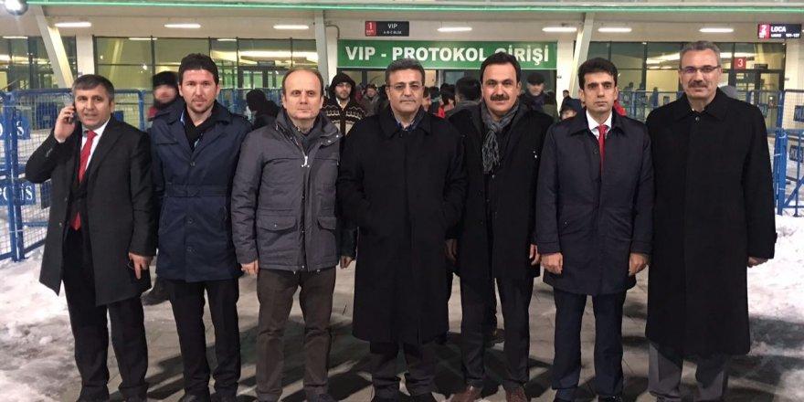 Galatasaray maçından VİP kare