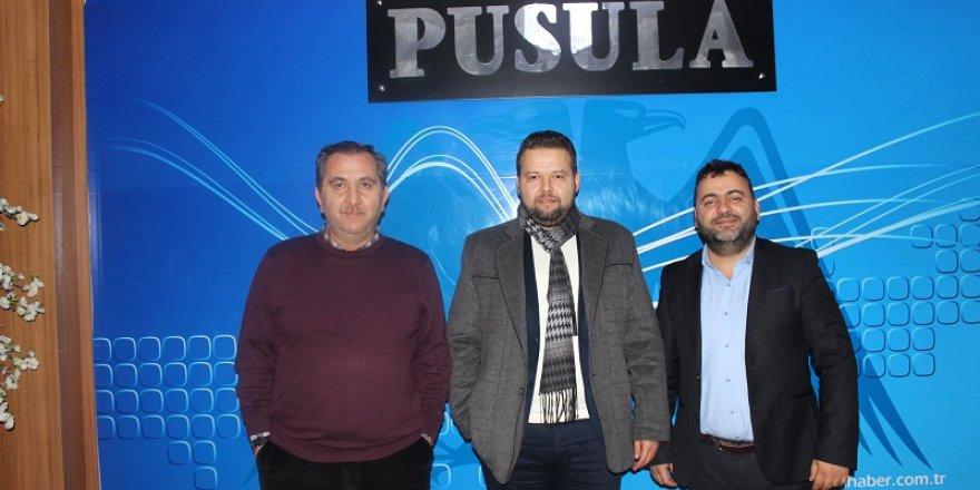 Osman Ergin'den Pusula'ya ziyaret
