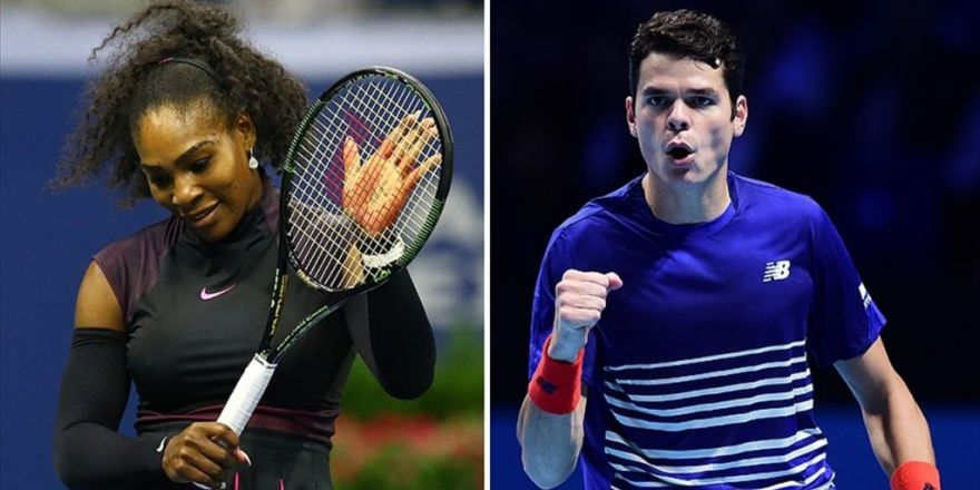 Serena Williams Ve Raonic 2. Turda